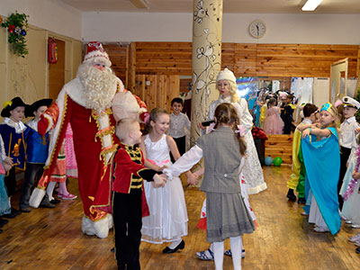 Дед Мороз и Снегурочка в Санкт-Петербурге | Новый Год 2017
