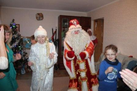 Дед Мороз и Сннегурочка на дом