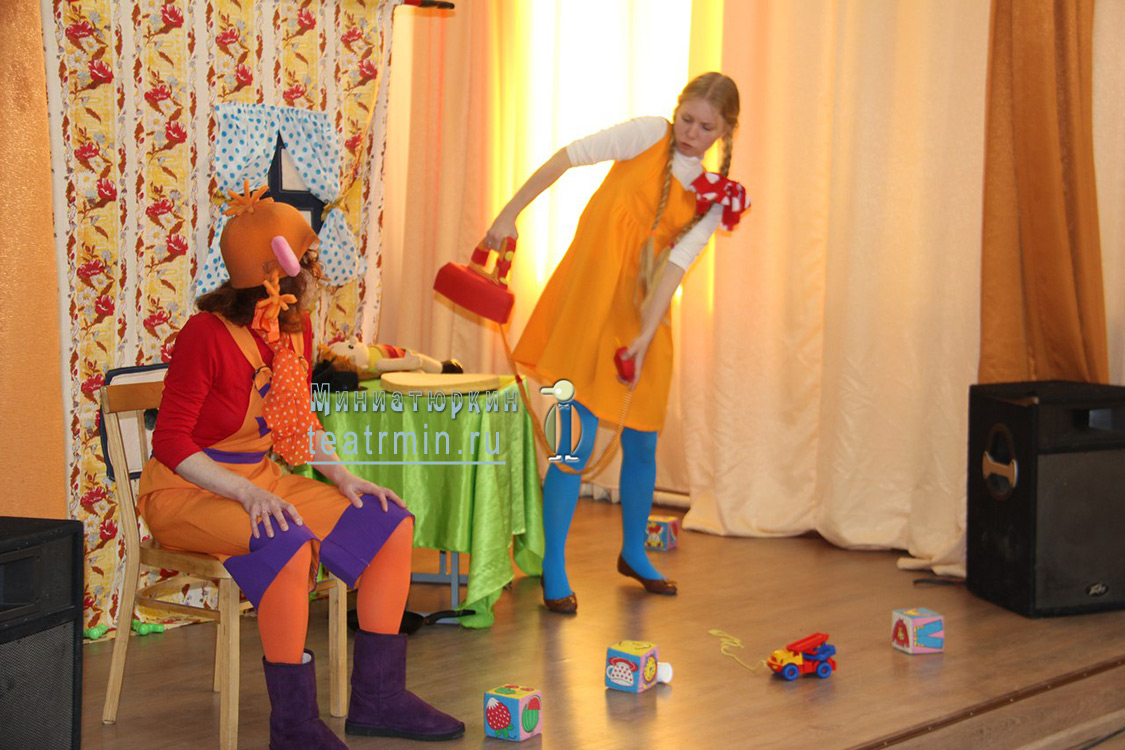детский Выездной спектакль в Спб